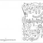 Coloring Pages ~ For Grandparents Dayles Cards Coloring Pages   Grandparents Certificate Free Printable