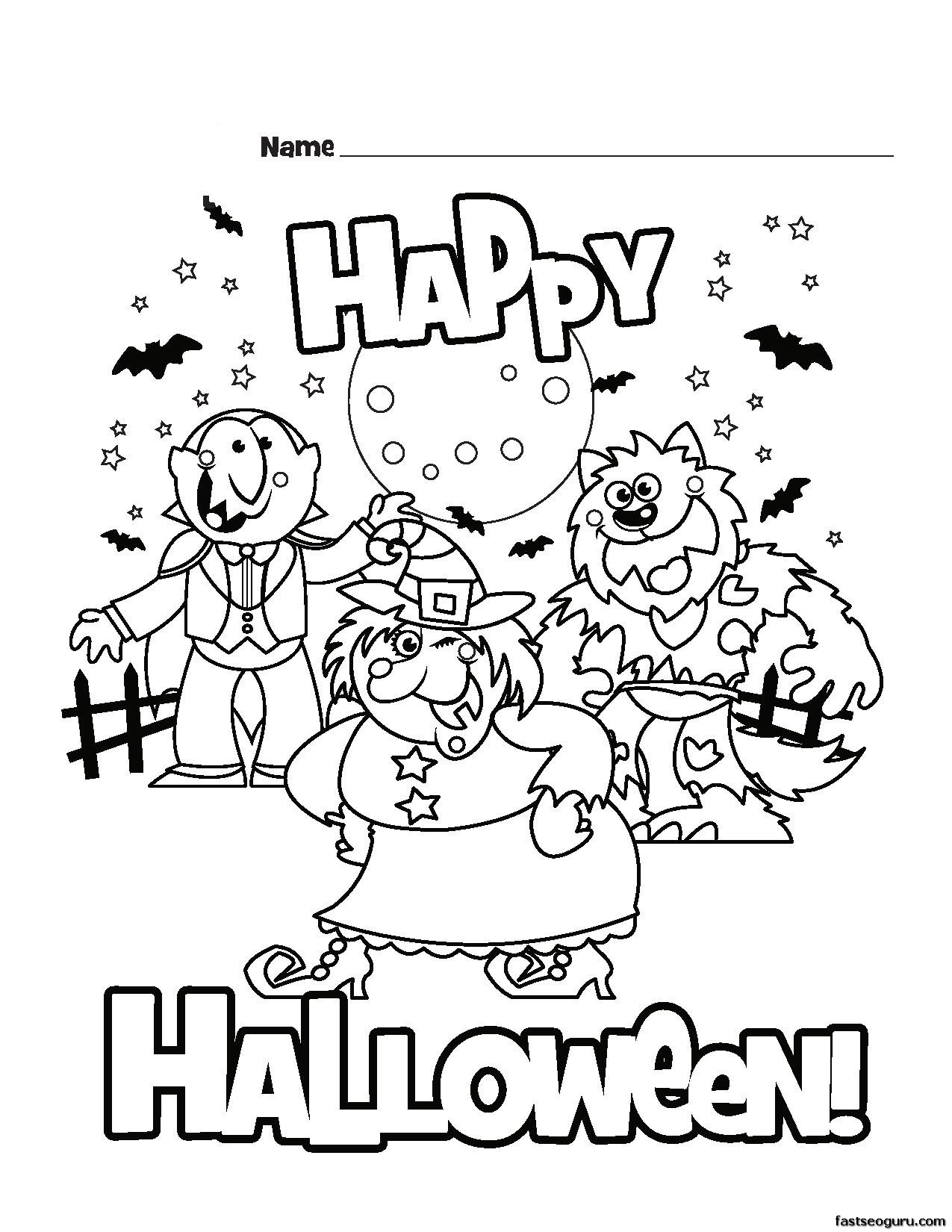 Coloring Pages : Free Printable Halloween Coloring Pages Best Of - Free Printable Halloween Coloring Pages