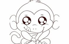 Free Printable Monkey Coloring Sheets