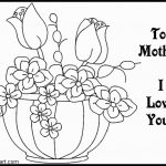 Coloring Pages ~ Free Printable Valentine Coloring Cards For Mokm   Free Printable Mothers Day Coloring Cards