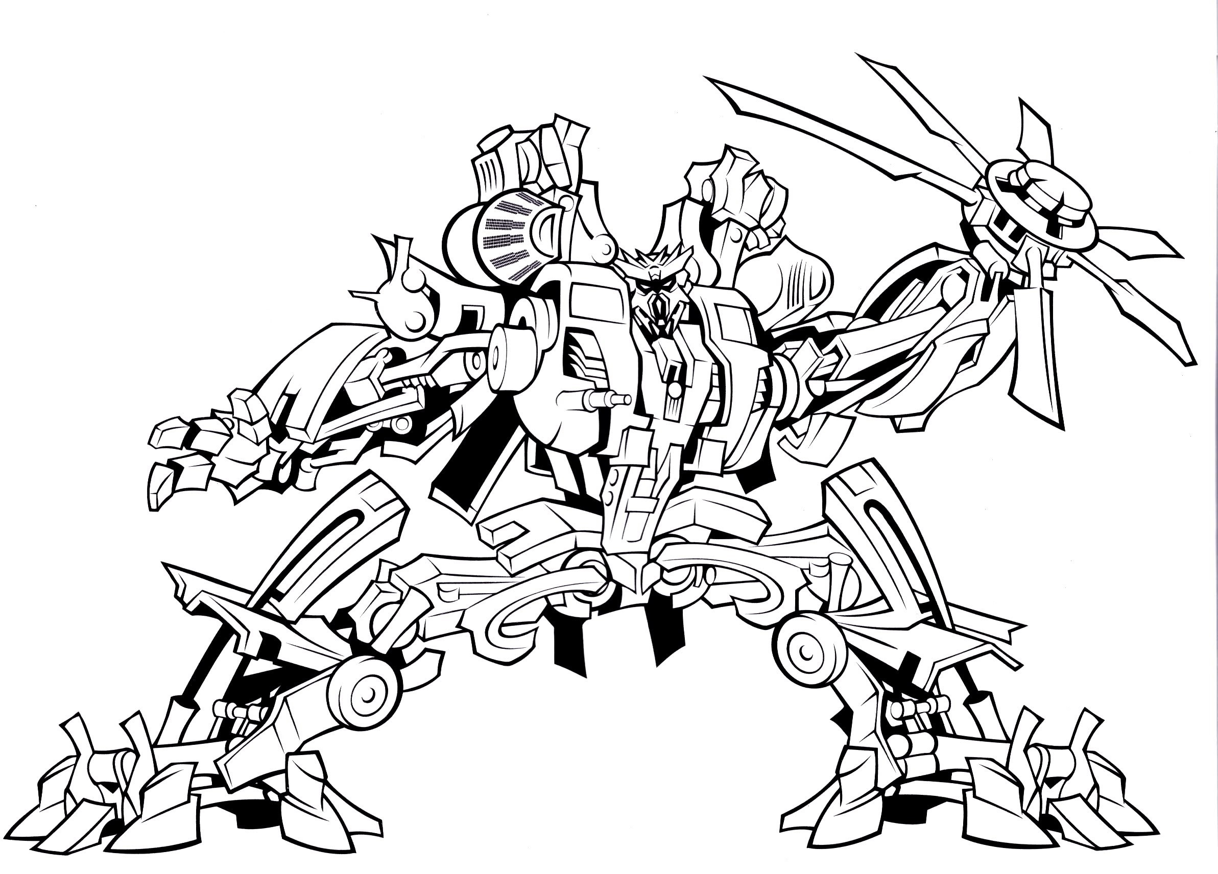 Coloring Pages ~ Free Transformer Coloring Pages Transformers To - Transformers 4 Coloring Pages Free Printable