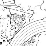 Coloring Pages : Kids Coloringn Pages Cute At Getcolorings Com Free   Free Printable Unicorn Coloring Pages
