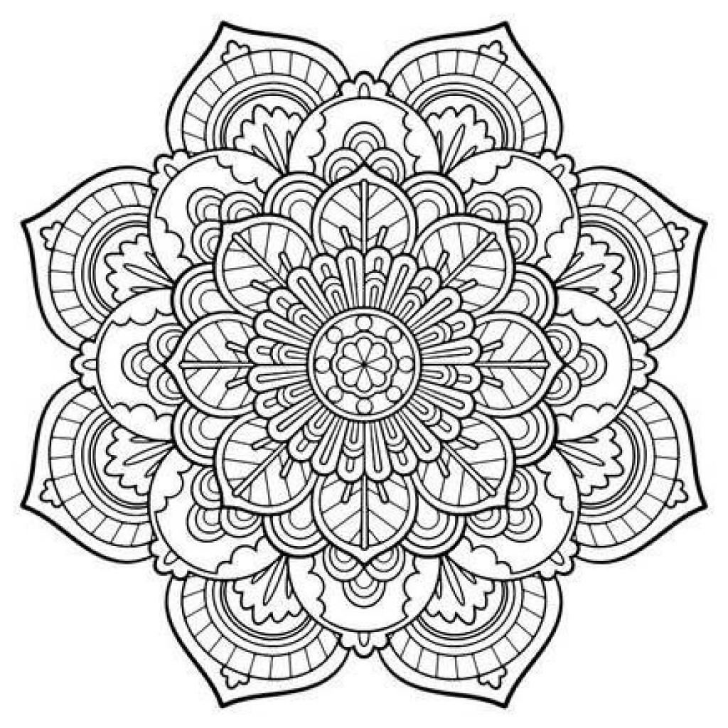 Coloring Pages Mandala Engaging Free Printable Mandalas 18 - Free Printable Mandalas