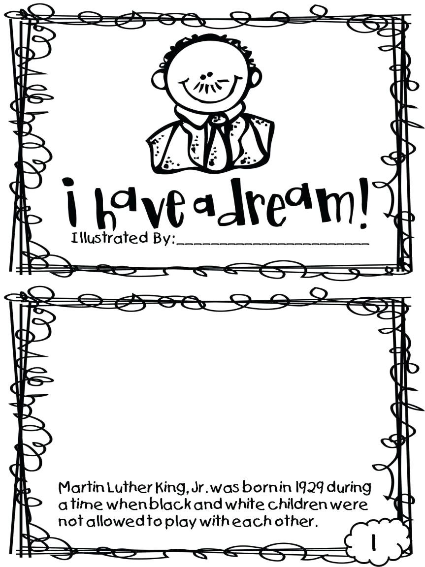 Coloring Pages : Martin Luther King Jr Coloring Pages Printable Free - Free Printable Martin Luther King Jr Worksheets For Kindergarten