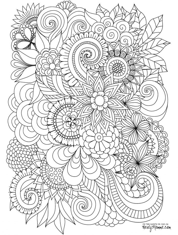 Free Printable Zen Coloring Pages