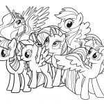 Coloring Pages : My Little Pony Coloring Pages To Print Book   Free Printable My Little Pony Coloring Pages