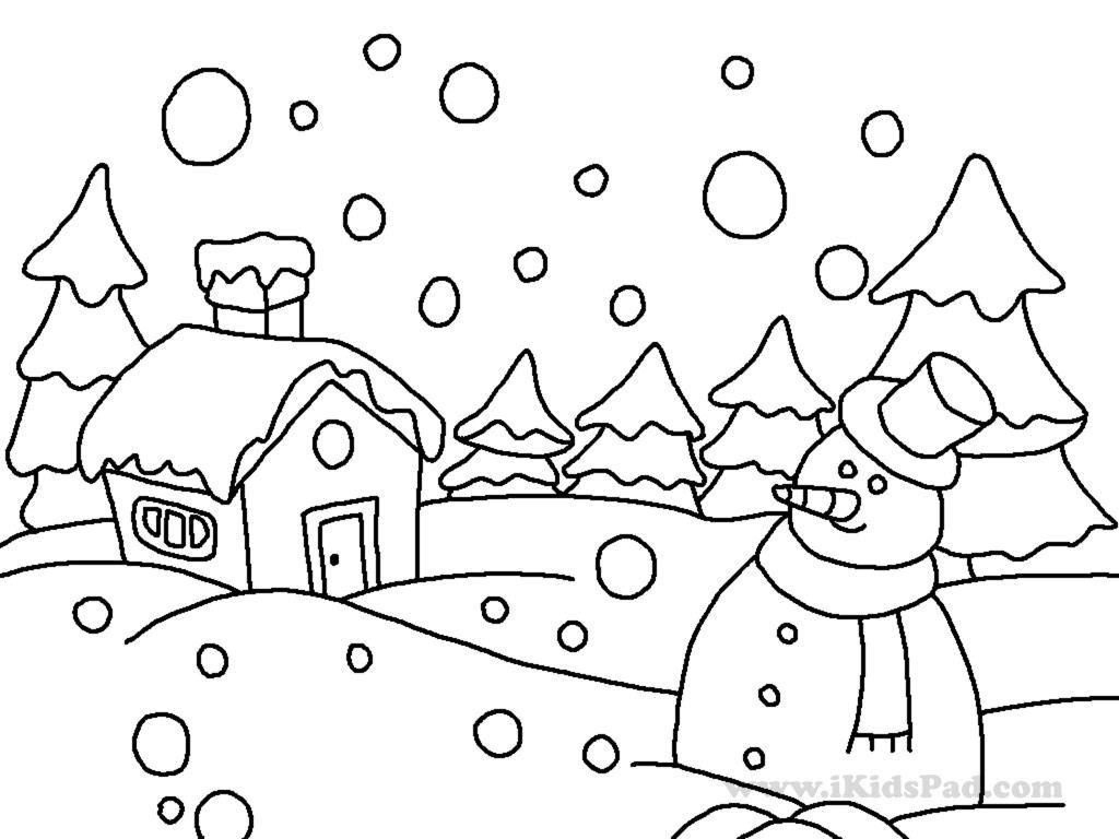 Coloring Pages ~ Phenomenal Free Printable Winter Coloring Pages - Free Printable Winter Coloring Pages