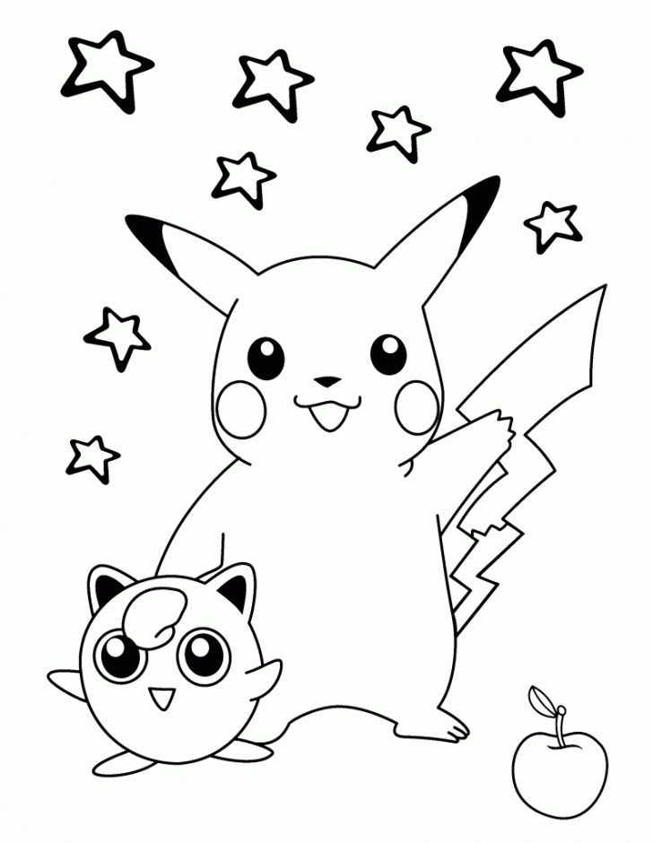 Free Printable Coloring Pages Pokemon Black White