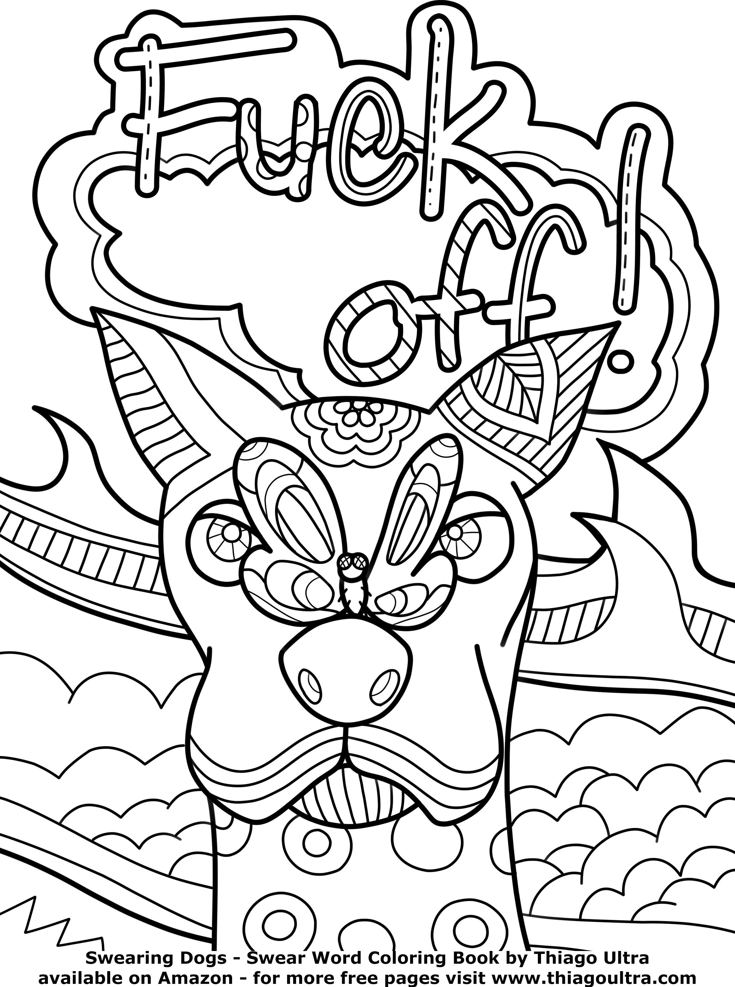 Coloring Pages : Printable Adult Coloring Pages Swear Words Free - Free Printable Coloring Pages For Adults Swear Words