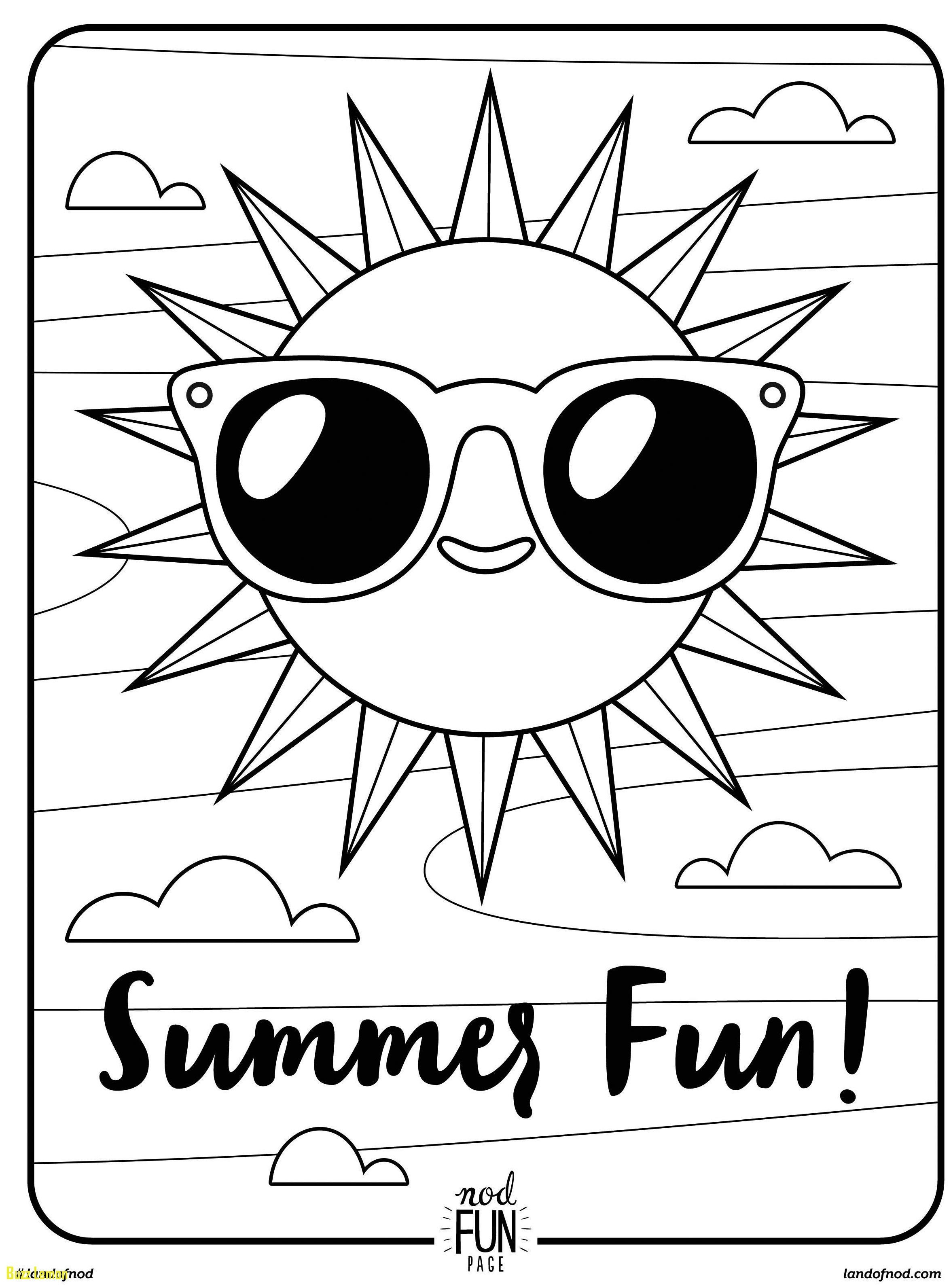 Coloring Pages : Printable Summer Coloring Pages Beach Free For - Free Printable Summer Coloring Pages
