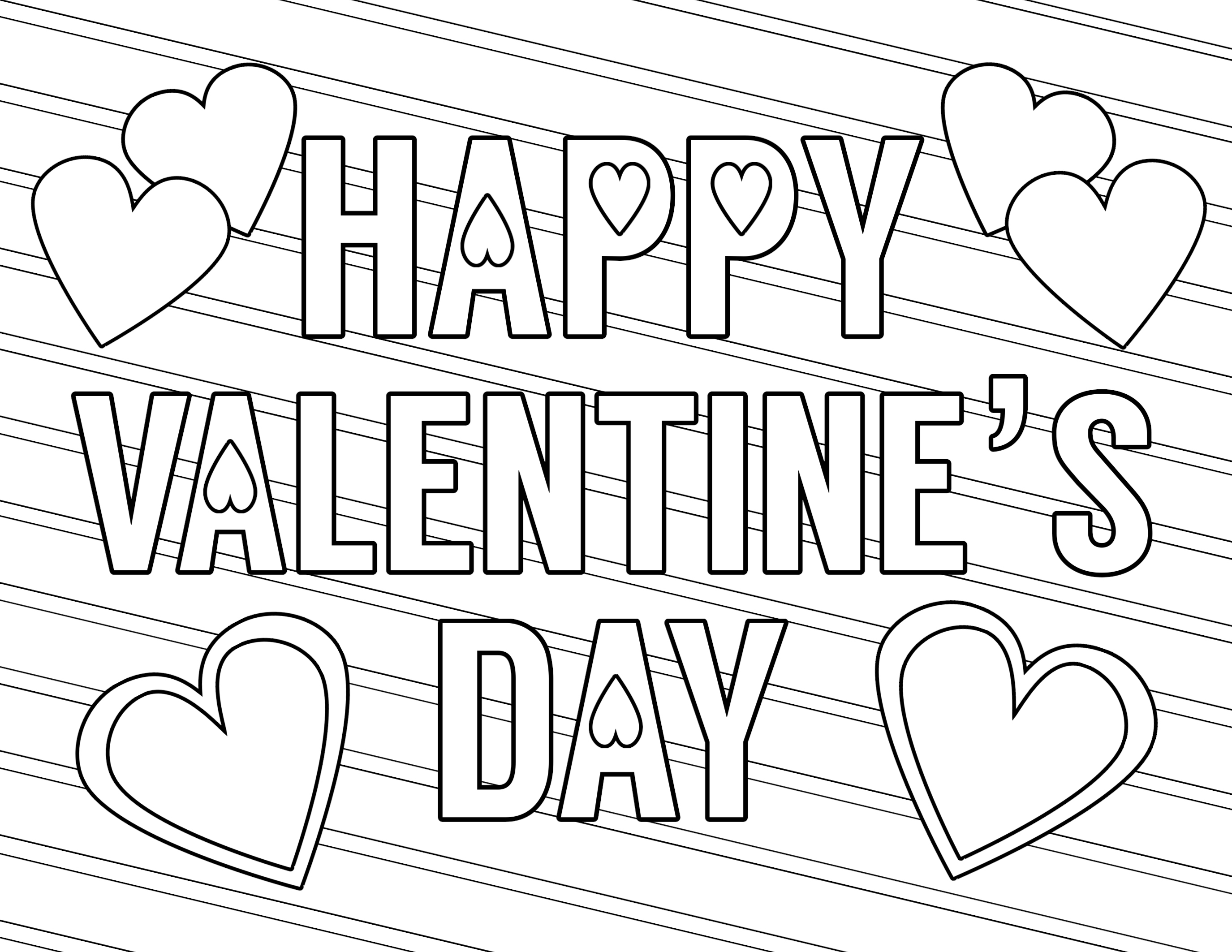 Coloring Pages : Valentines Day Coloring Page Pages Of Free - Free Printable Valentines Day Coloring Pages