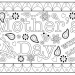Colouring Mothers Day Card Free Printable Template   Free Printable Mothers Day Coloring Cards