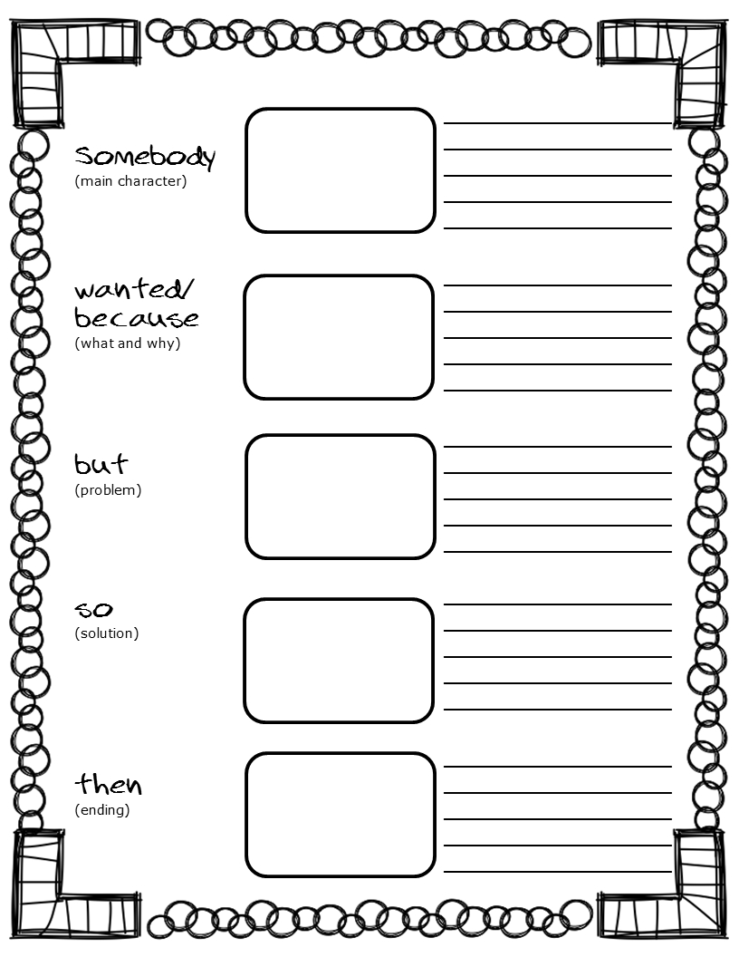 Columbus Day Activities | Ideas For Writing | Reading Lessons - Free Printable Main Idea Graphic Organizer