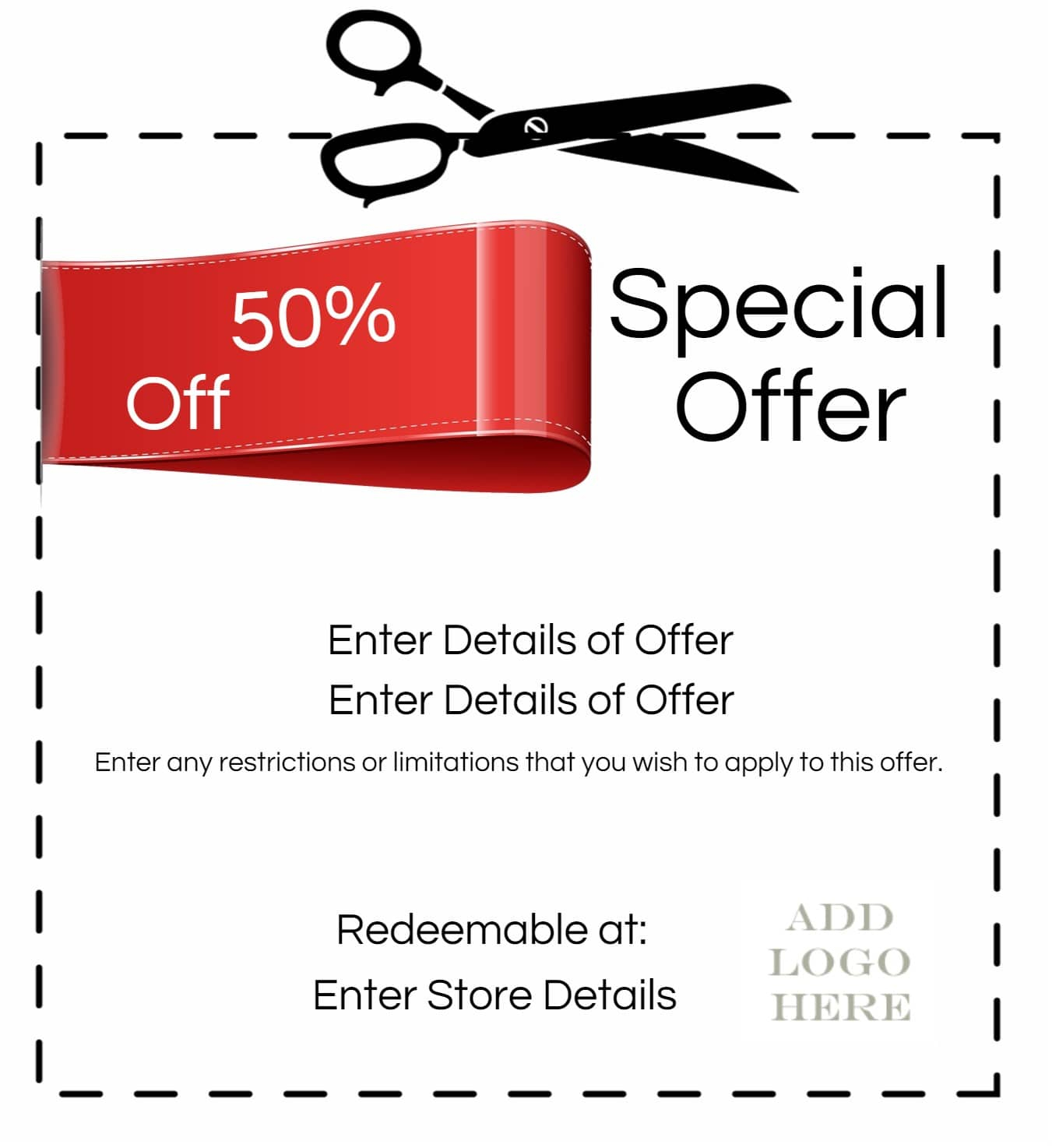 Coupon Maker - Create Your Own Coupon Free Printable