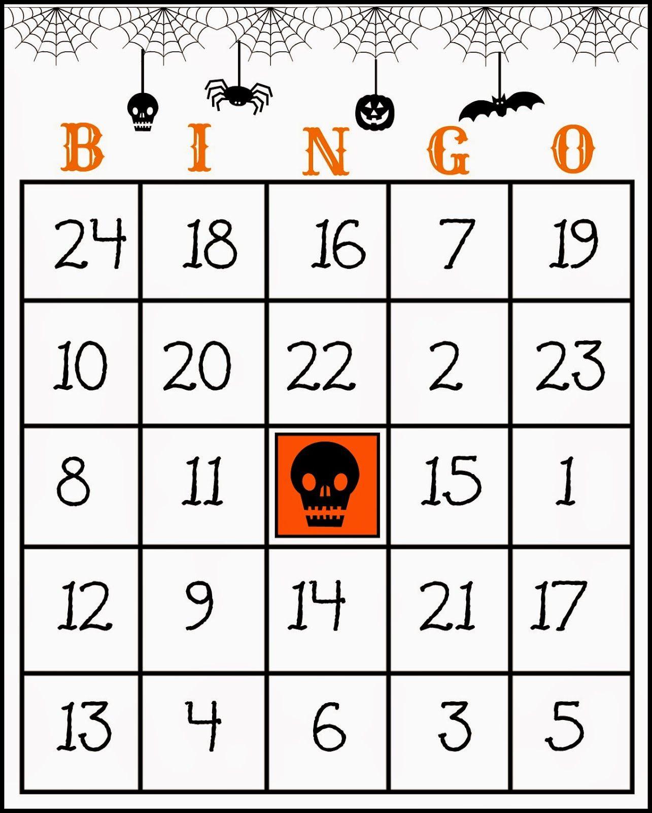 Crafty In Crosby: Free Printable Halloween Bingo Game   Products I - Free Printable Halloween Bingo Cards