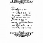 Crafty Secrets Heartwarming Vintage Ideas And Tips: Free Serenity   Free Printable Serenity Prayer