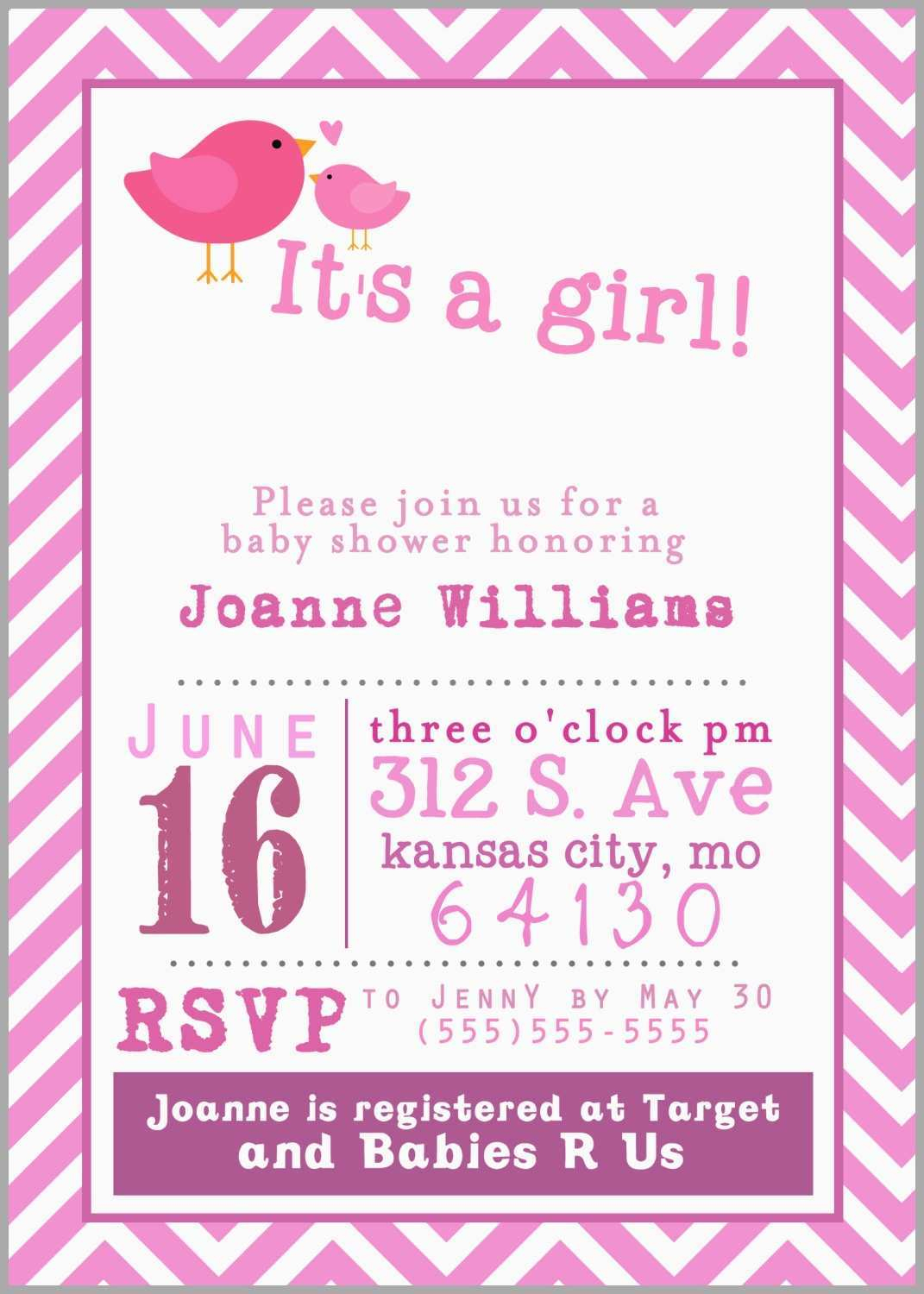 Create Your Own Baby Shower Invitations Free Printable New Baby - Create Your Own Baby Shower Invitations Free Printable