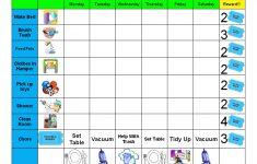 Free Printable Chore Chart Ideas
