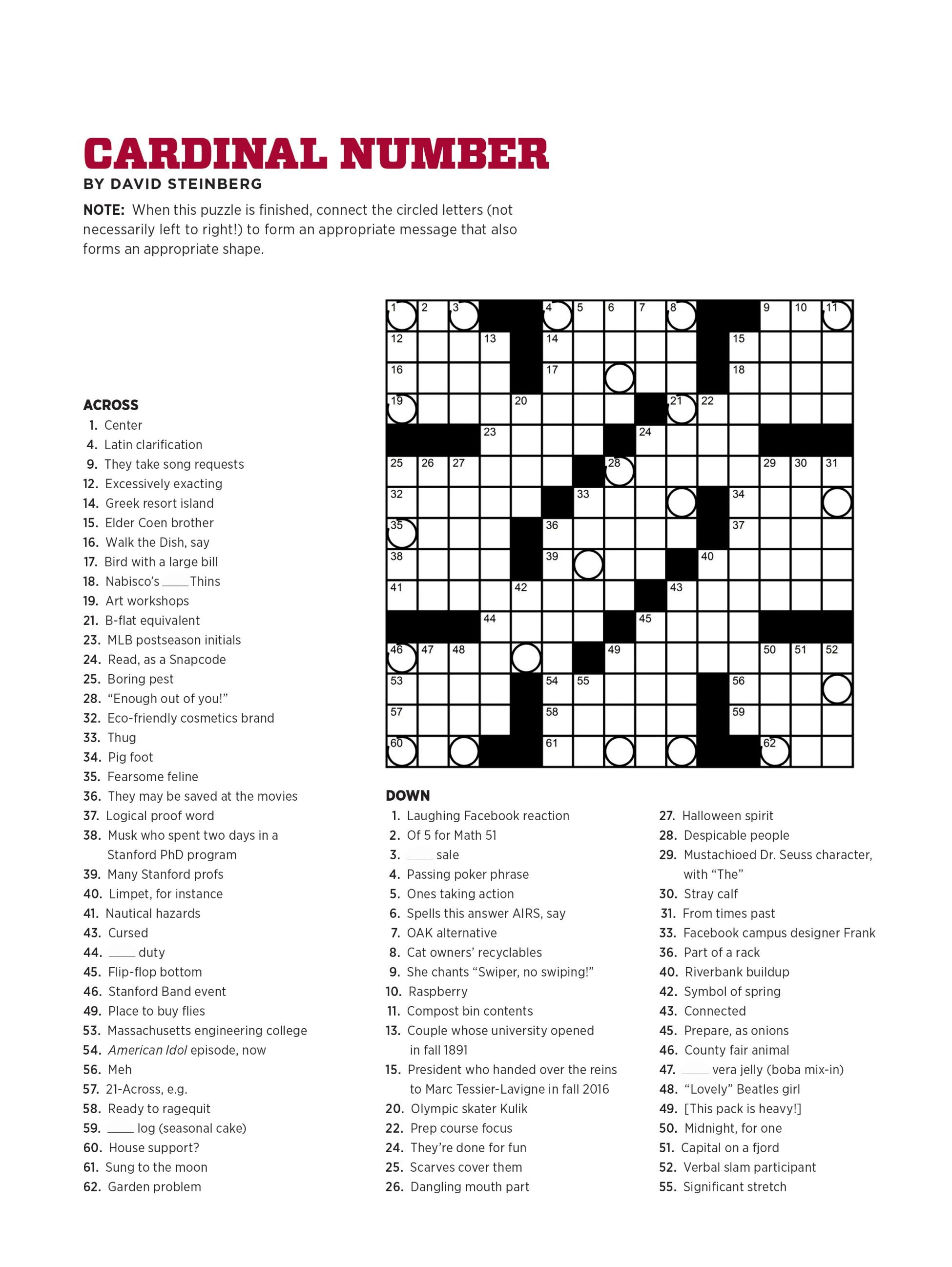 Crossword Puzzle Maker For Free Printable Crosswords Usa Today - Free Printable Crosswords Usa Today