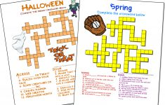 Crossword Puzzle Maker | World Famous From The Teacher's Corner – Free Online Printable Crossword Puzzles