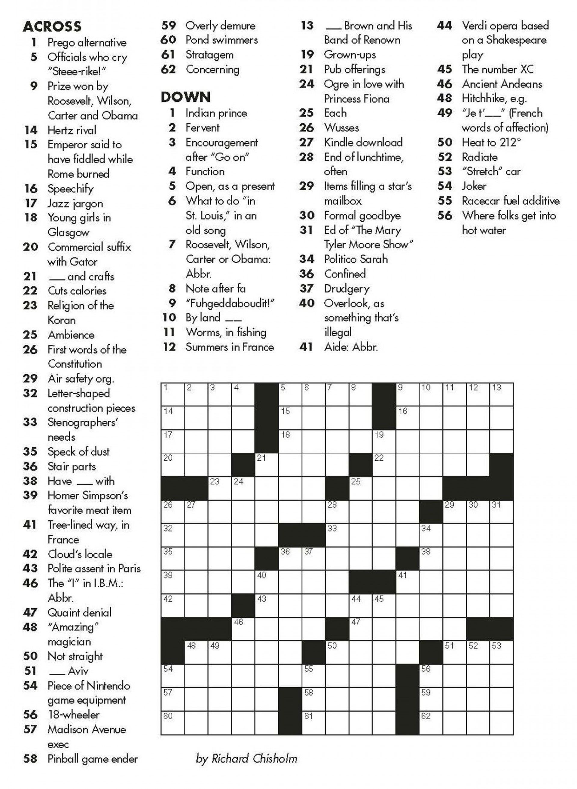 Crosswords Crossword Puzzle Maker Free And ~ Themarketonholly - Crossword Maker Free And Printable