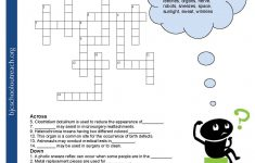 Crosswords Crossword Puzzle Worksheets For Middle School Biology Fun – Free Printable Biology Worksheets For High School