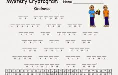 Cryptograms! | Cjrl: Kids Zone With Regard To Free Printable – Free Printable Cryptoquip Puzzles