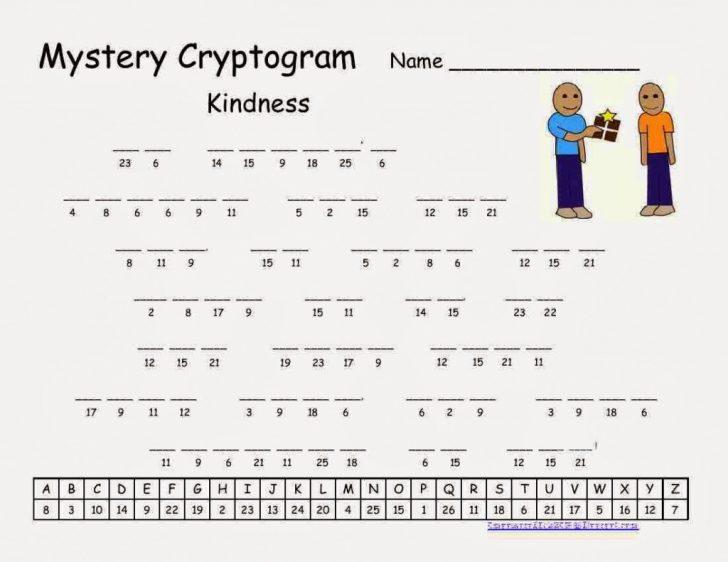 Free Printable Cryptoquip Puzzles