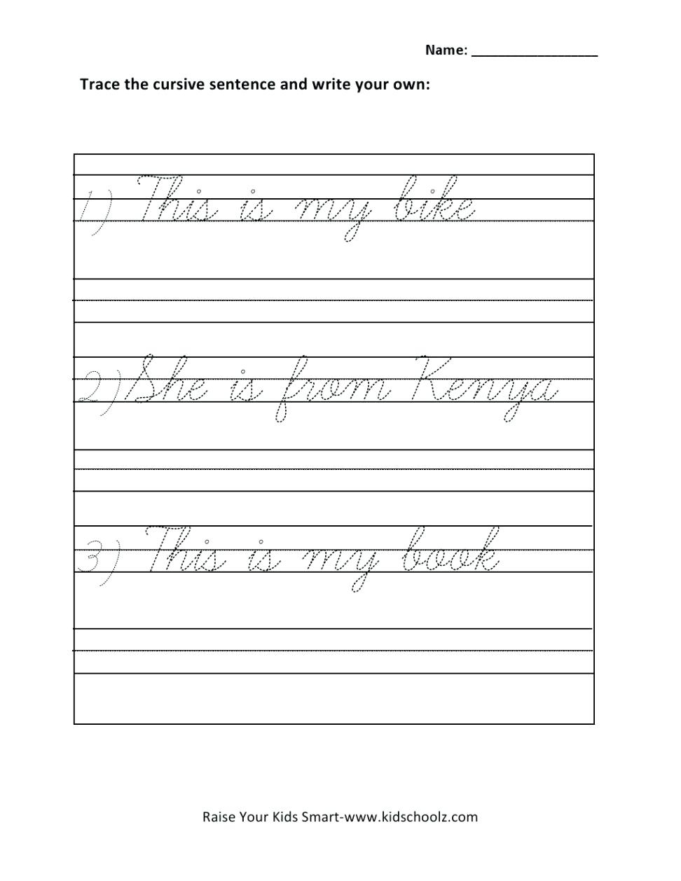 Cursive Paragraph Worksheets Cursive Writing Paragraph Worksheets - Free Printable Cursive Writing Paragraphs