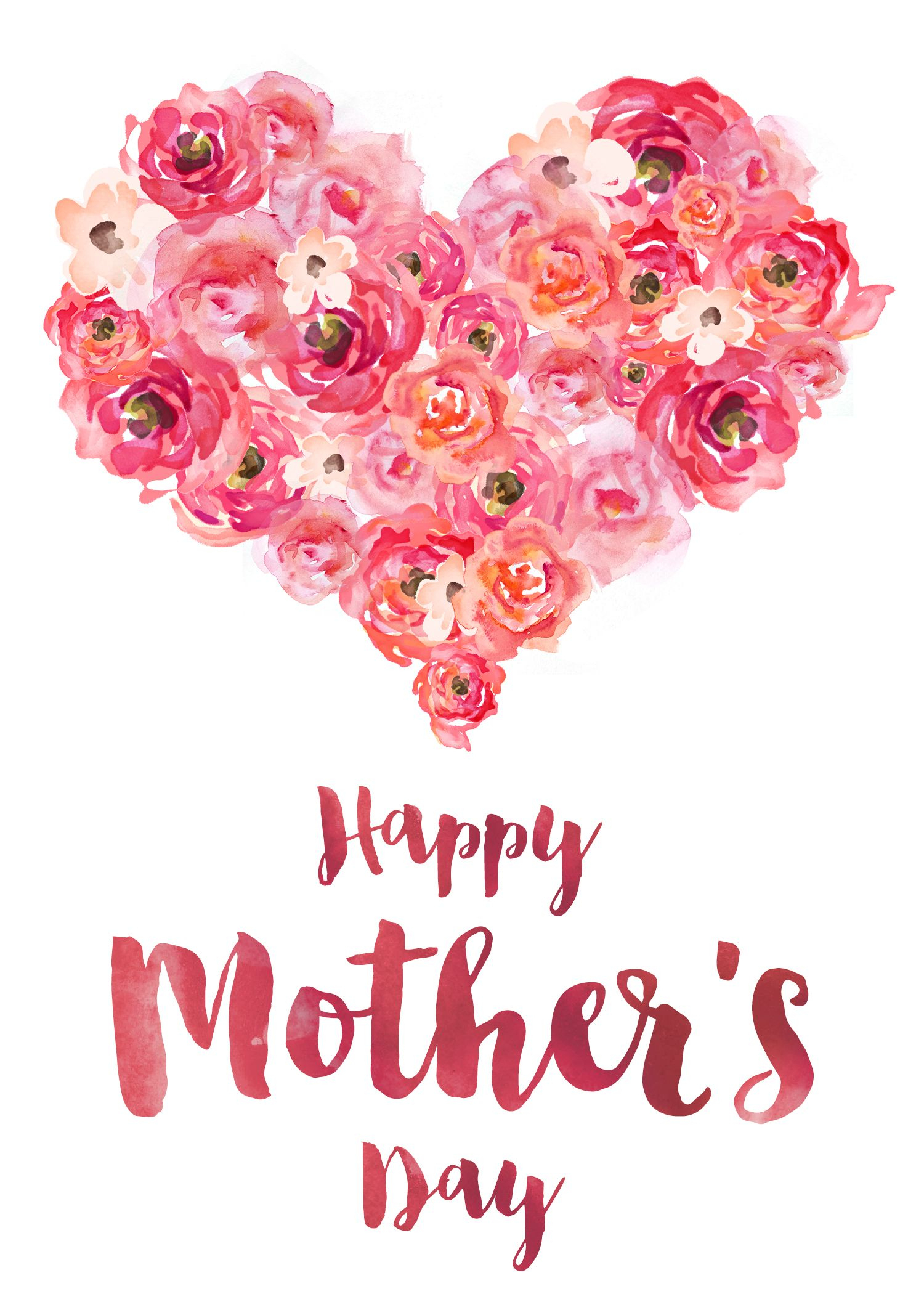 Customized Banner | Share Your Heart | Mothers Day Images, Happy - Free Spanish Mothers Day Cards Printable
