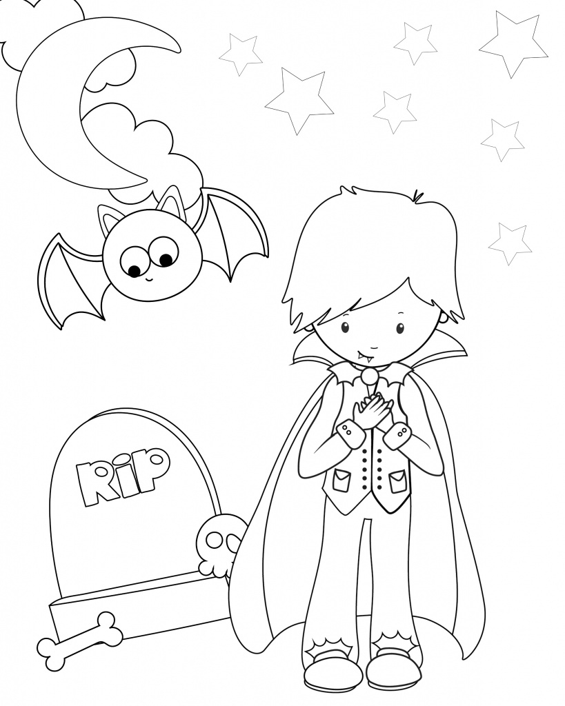 Cute Free Printable Halloween Coloring Pages - Crazy Little Projects - Free Printable Halloween Coloring Pages