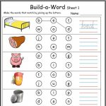Cvc Worksheets Printable Work Sheets • Keepkidsreading With Regard   Cvc Words Worksheets Free Printable