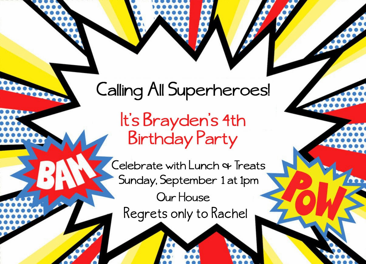 Dadbfbdcce Spectacular Ideas Free Printable Superhero Birthday - Free Printable Superhero Birthday Invitation Templates