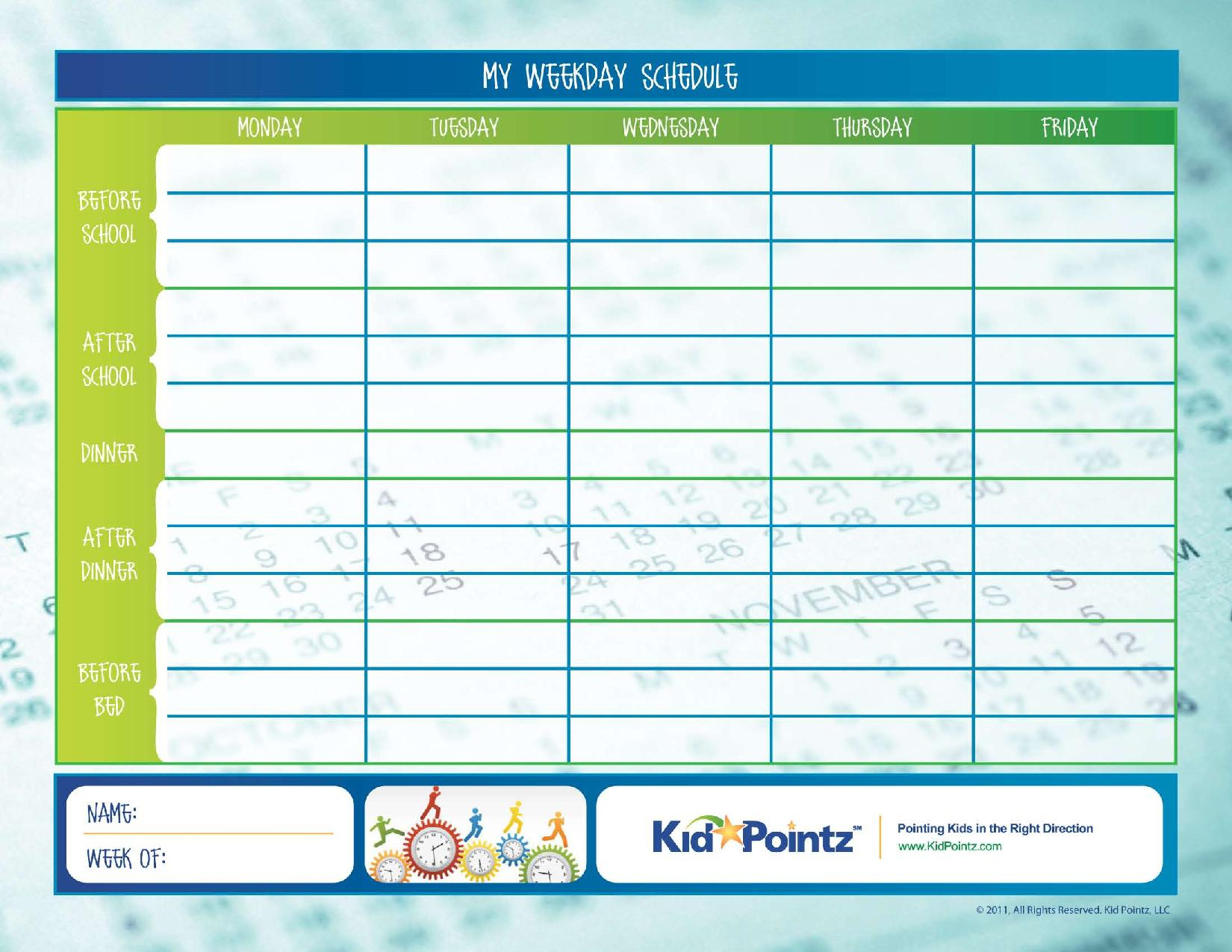 Daily Routine Charts For Kids Collection (25 Pages)   Personal Hygiene - Children's Routine Charts Free Printable