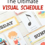 Daily Visual Schedule For Kids Free Printable – Natural Beach Living – Free Printable Daily Routine Picture Cards