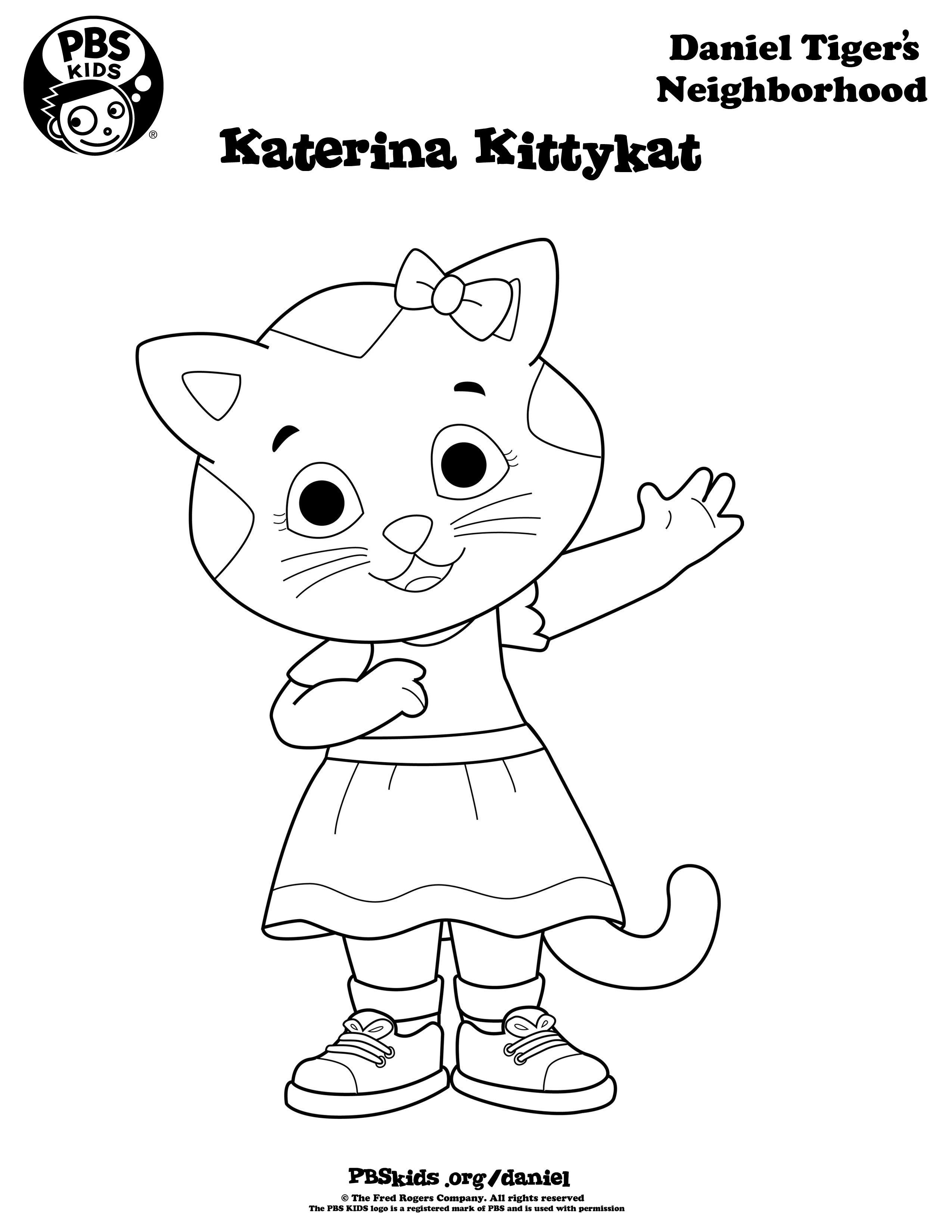 Daniel Tiger Coloring Pages . Daniel Tiger Birthday Party . Pbs - Free Printable Daniel Tiger Coloring Pages