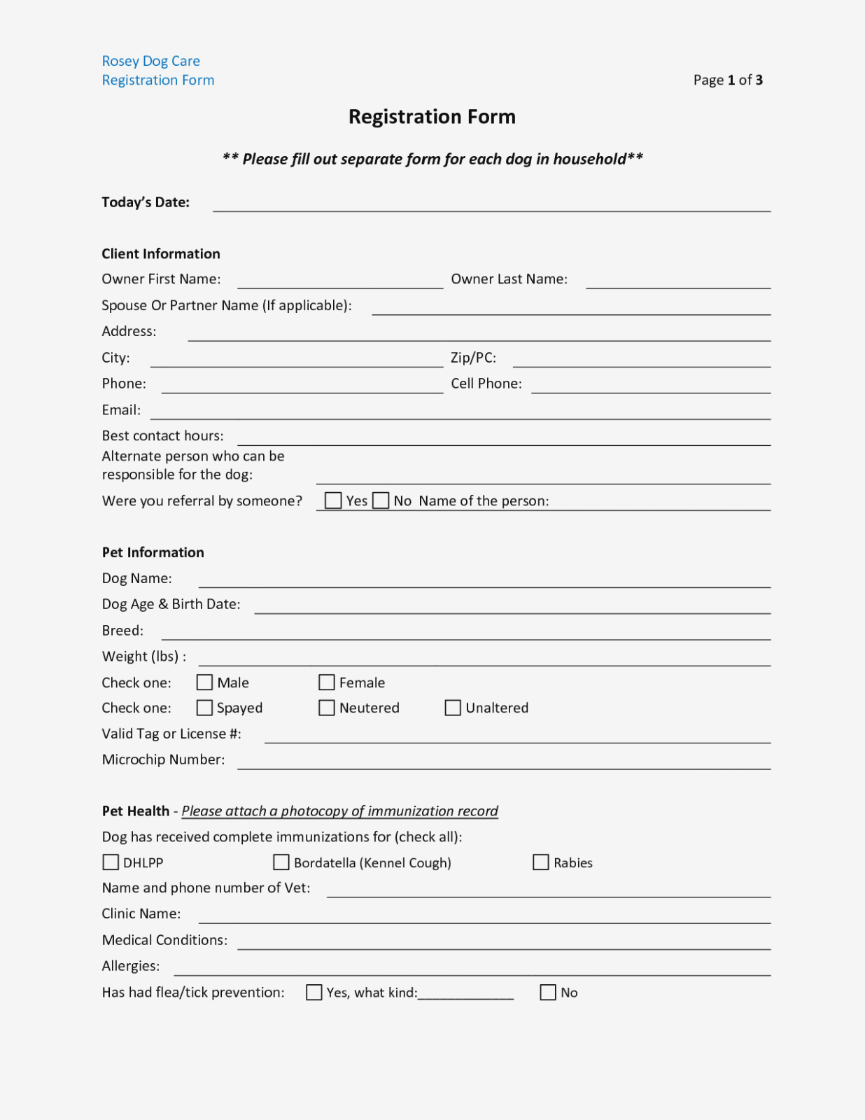 Daycare Form 12 Best Of Printable Daycare Forms Free Daycare - Free Printable Daycare Forms