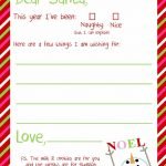 Dear Santa Letter Printable | Kindergarten   Holidays & Themes   Free Printable Dear Santa Stationary