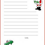 Dear Santa Letter Template   Christmas Letter Tips |   Free Printable Dear Santa Stationary