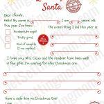 Dear Santa Letter Template Printable Best Printable Letter To Santa   Free Printable Letter From Santa Template