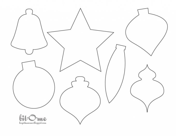 Free Printable Christmas Ornament Patterns