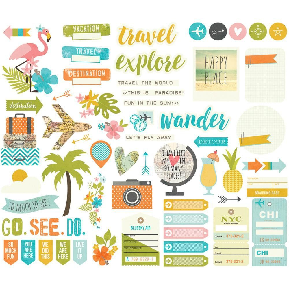 Die Cuts - Bits & Pieces - You Are Here! | A Imprimer | Pinterest - Scrapbooking Die Cuts Free Printable