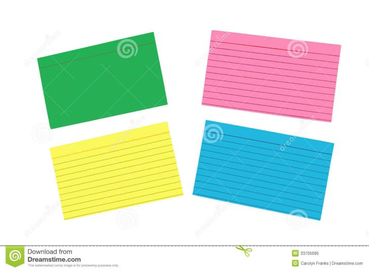 Free Printable Blank Index Cards