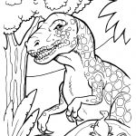 Dinosaur Coloring Pages 360Coloringpages | Adult Coloring   Free Printable Dinosaur Coloring Pages