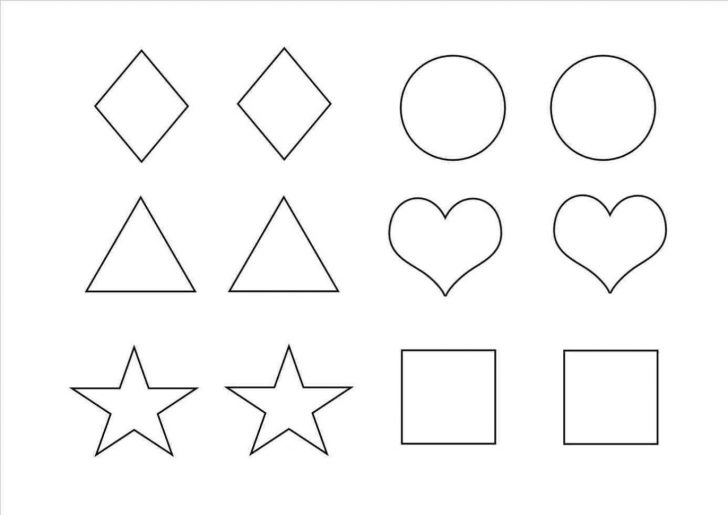 Free Shape Templates Printable