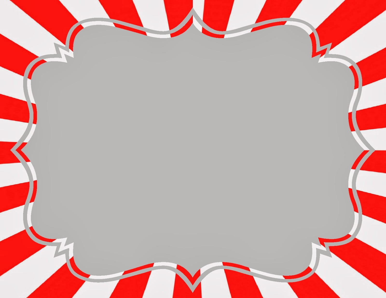 Diy Carnival Signs ~ The Red Balloon - Free Printable Carnival Signs
