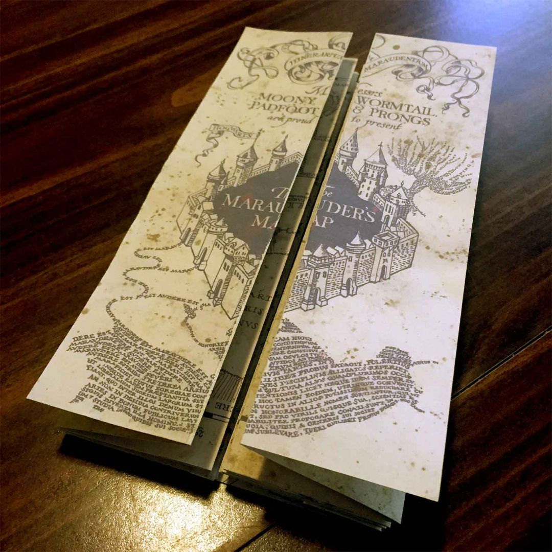 Diy Harry Potter Marauders Map Tutorial And Printable From - Free Printable Marauders Map