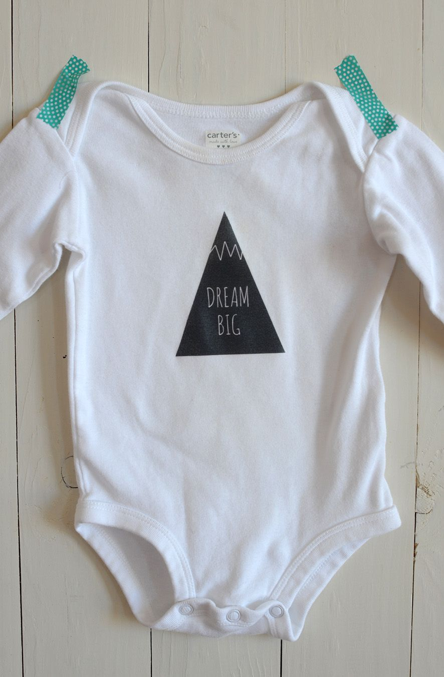 Diy Iron-On Graphic Onesie | Crafty Diy | Pinterest | Free Baby - Free Printable Onesies