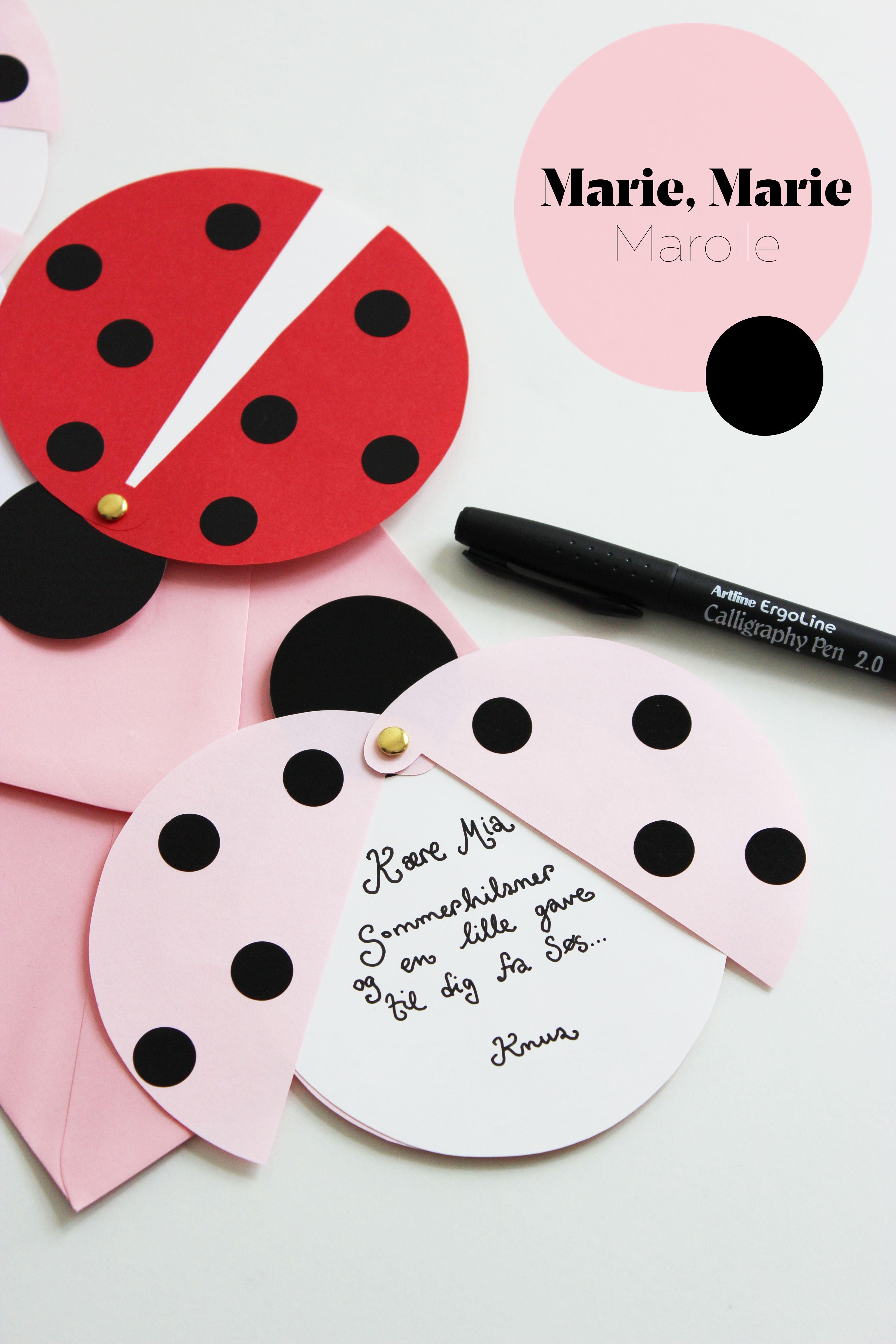 Diy: Ladybug Party Invitations (Free Printable Template) | Diy - Free Printable Ladybug Invitations