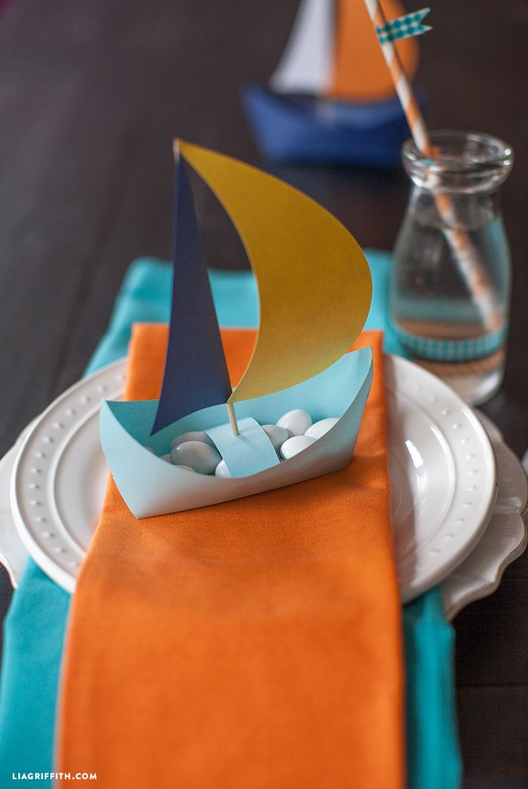 Diy Paper Boat | Printables | Pinterest | Boat Theme, Diy Paper And - Free Printable Sailboat Template